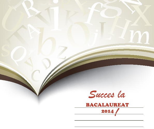 Calendar BACALAUREAT 2014